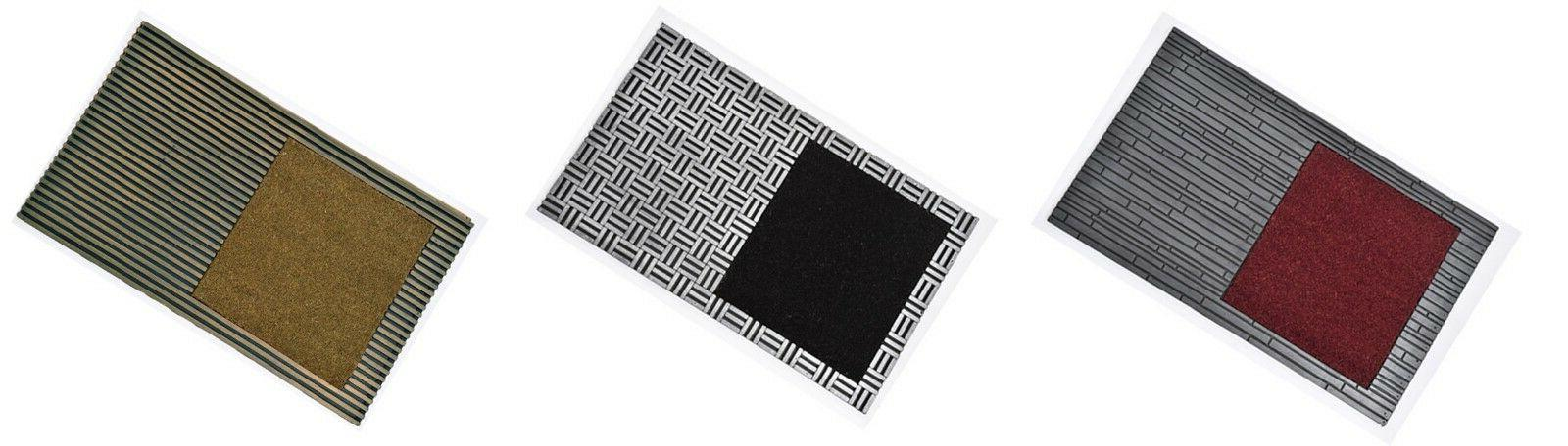 Evideco Design Sheltered Front Door Mat Bill Coir Coco Rubbe