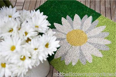 "DOOR - BLOSSOM COIR - 17"" X 28"" FLORAL WELCOME"