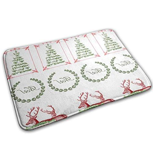 doormat vintage christmas stickers personalized