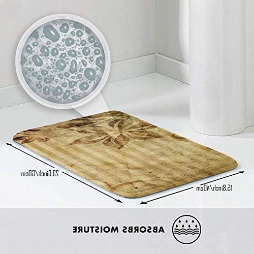FunnyCustom Pattern Non Water Absorption Entrance for Bathroom