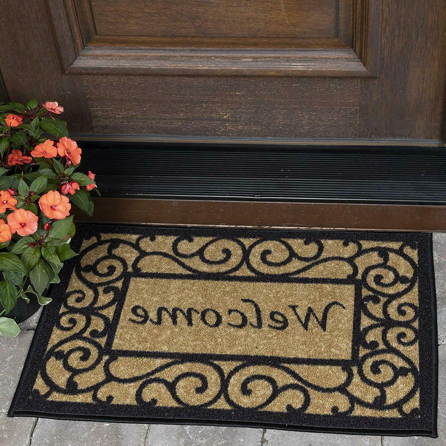 door mat 20x30 non slip indoor outdoor