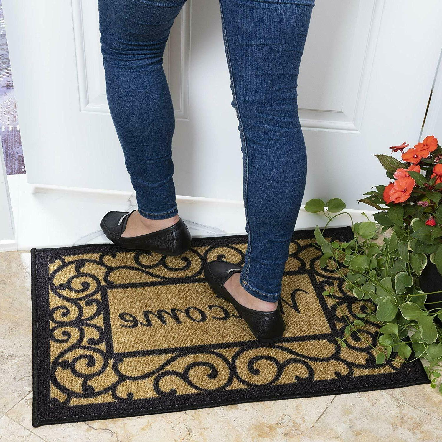 Door Non Slip Indoor Outdoor Porch Rug