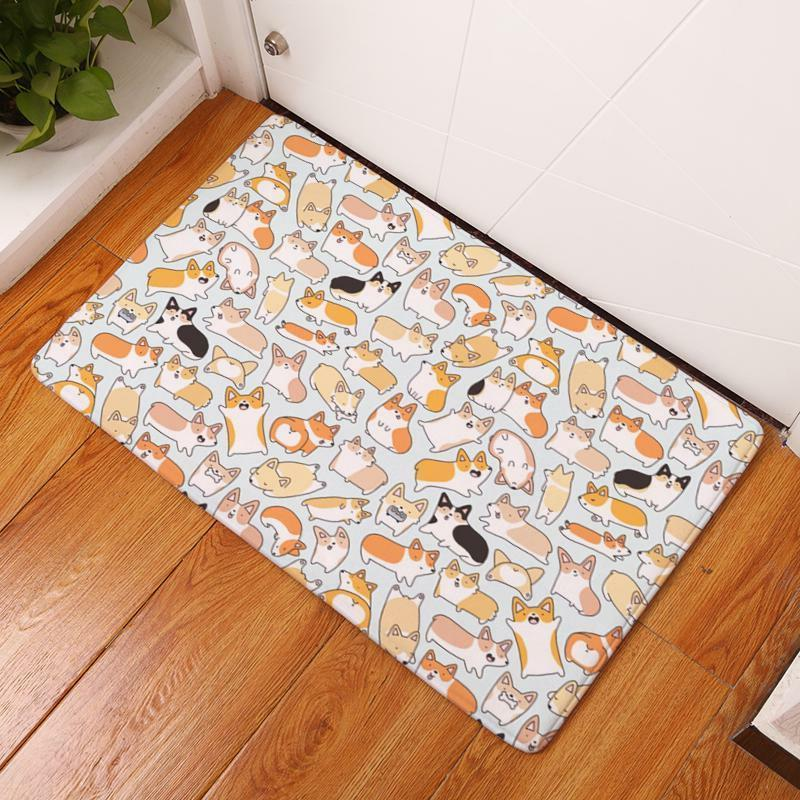 Durable Mats Thin Flannel Kitchen Entrance
