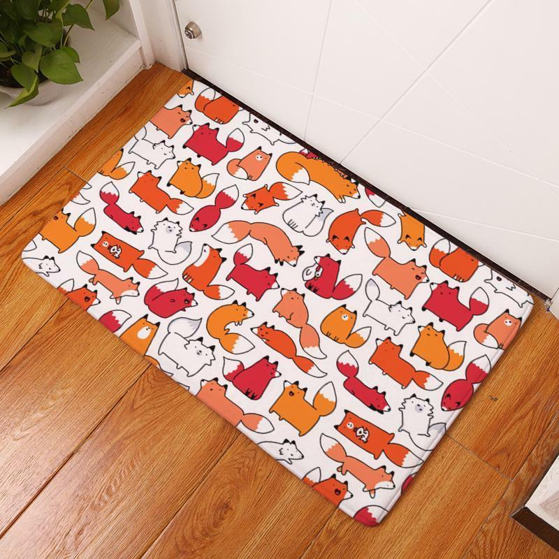 Durable Door Flannel Lovely Kitchen Rugs