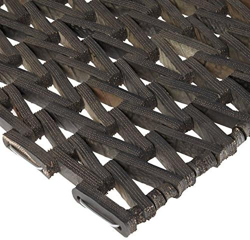 "Durable Durite Outdoor Weave, 24"" Black"