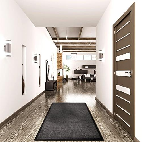 casa Entrance | Embossed Front Mat Indoor and Outdoor | Anthracite | x 72""