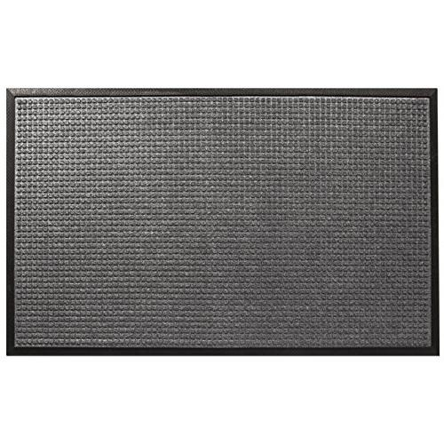 "casa Entrance | Front Mat | Indoor Outdoor Entry Rug | Anthracite 48"" 72"""