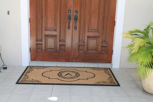 "Impression Crafted Entry Double Doormat, L 36"" X-Large"