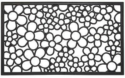 floral wrought iron heavy duty welcome outdoor