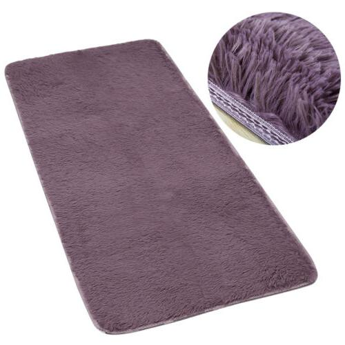 Fluffy Rugs Shaggy Area Rug Bedroom 6Size