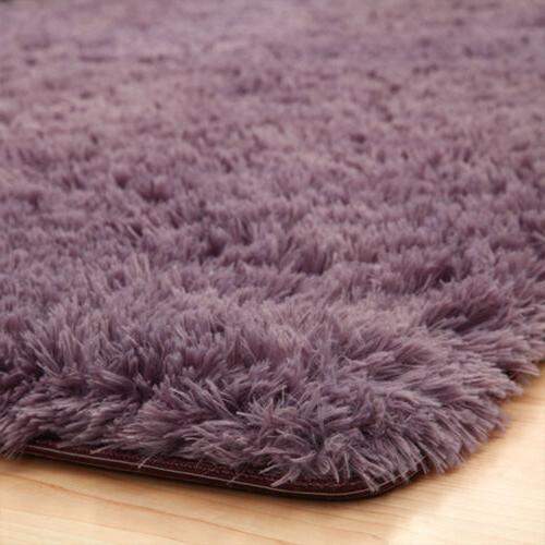 Fluffy Rugs Area Living Bedroom Floor 6Size