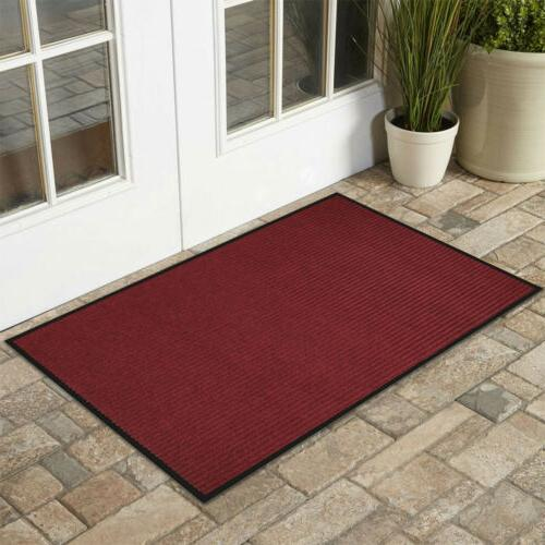 Front Door PVC Mat Indoor Entry Way Ribbed Home