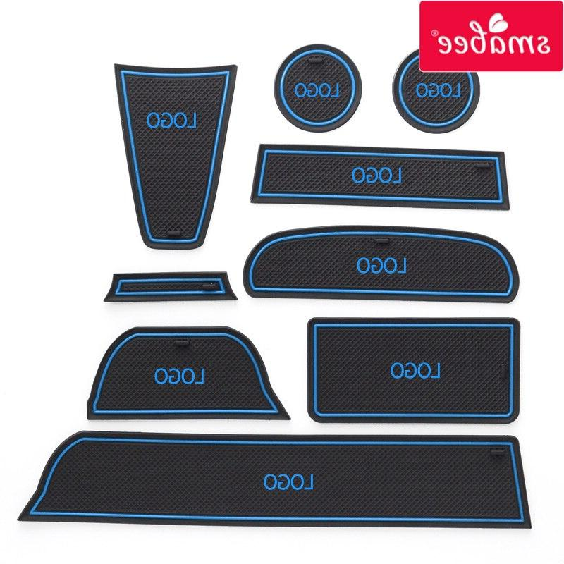smabee Gate Interior Pad/Cup For LADA GRANTA red/blue/white <font><b>mats</b></font>