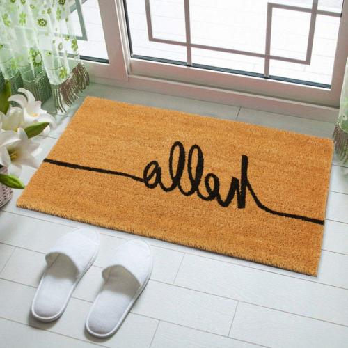 "Kempf Hello Greeting Front Door mat Sizes x 30"" and x 18"""