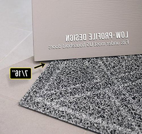 BrigHaus Doormat | 24 35 | Slip Heavy Duty Front Entrance Door Mat Dirt Snow Mud