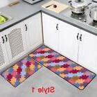 Kitchen Printed Carpet Hallway Doormat Floor Soft Non-slip O