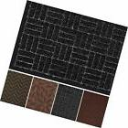 "Large Outdoor Door Mats Rubber Shoes Scraper 36"" x 24"" for F"
