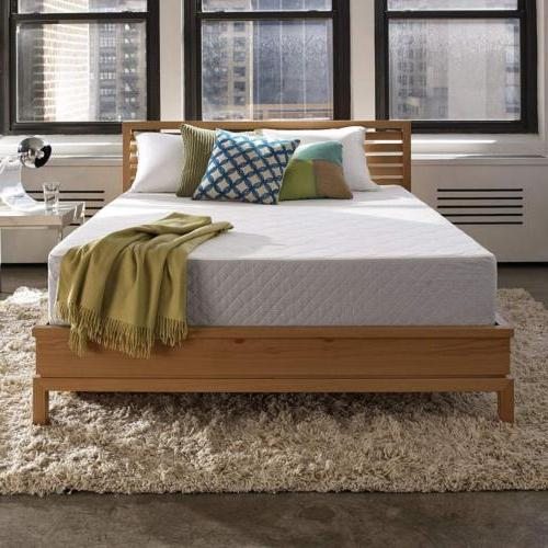 marley 10 inch gel memory foam mattress
