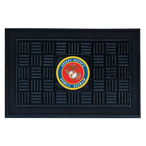Fanmats Military  'Marines' Medallion Door Mat