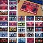 "MLB Teams - 19"" X 30"" Uniform Inspired Starter Area Rug - Do"