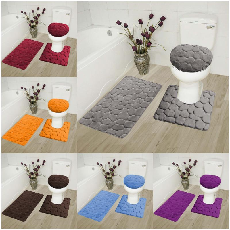 moroccan design 3pc bathroom set soft comfort