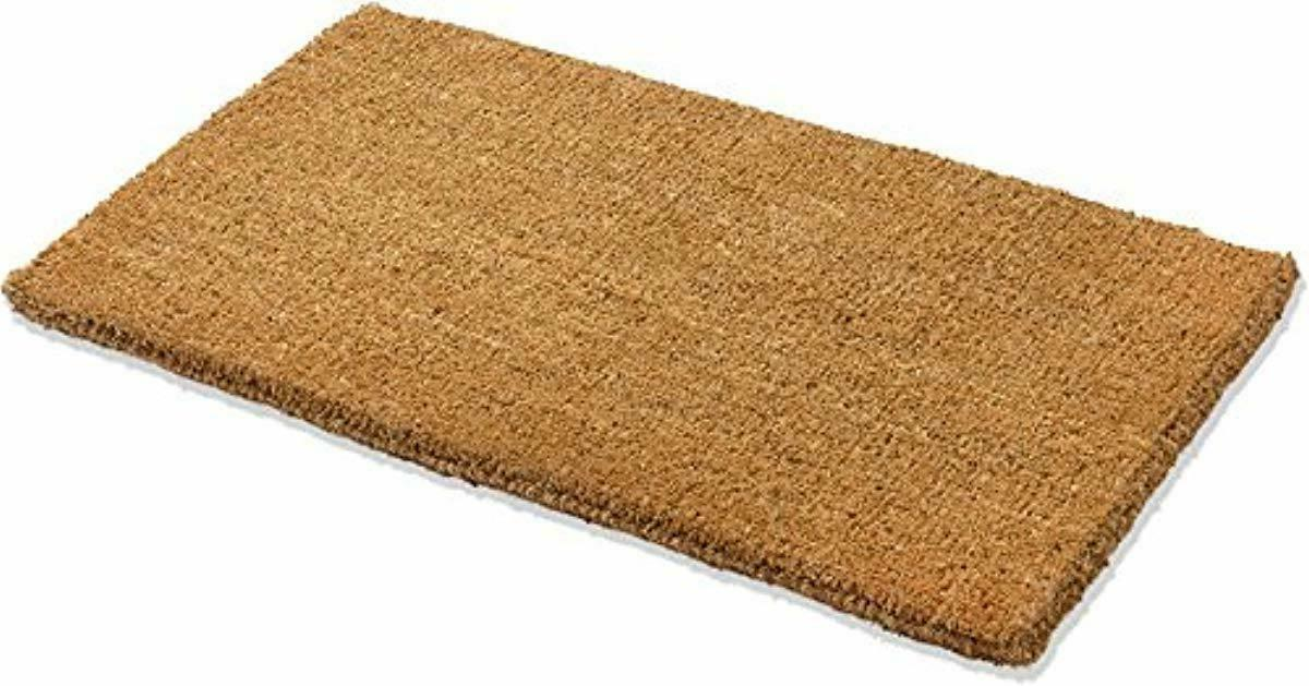 natural coco coir doormat 22 inch by