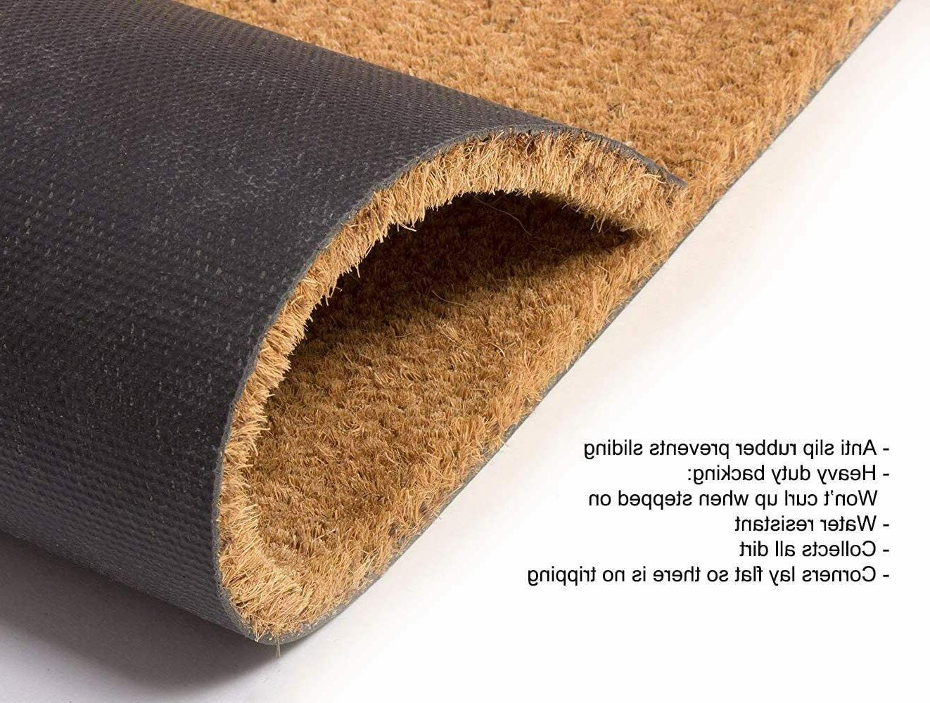 Natural Coco Doormats for with Duty Weather