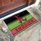 "FANMATS NCAA ALABAMA CRIMSON TIDE 18"" x 30"" Crumb Rubber Wel"