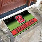 "FANMATS NCAA NC STATE WOLFPACK 18"" x 30"" Crumb Rubber Welcom"