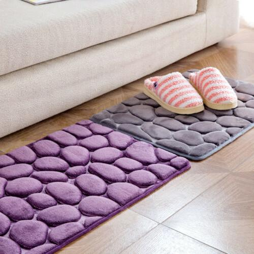 Non-slip Door Floor Rug Mat Bath Bedroom Kitchen Decor