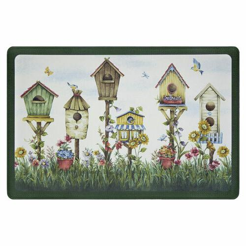 nwt birds flowers garden birdhouses