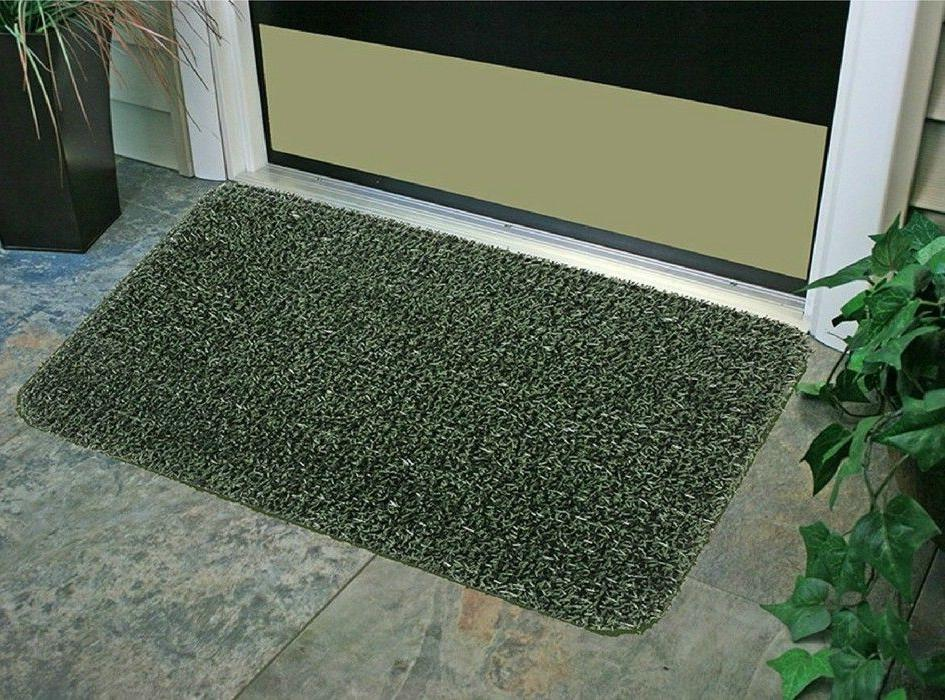 Outdoor Entrance Doormat Heavy Duty Front Door Welcome Rug M