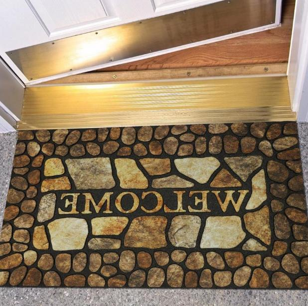 outdoor front door mat welcome indoor rug