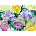 Betsy Drake PM390 Watercolor Garden Place Mat - Set of 4