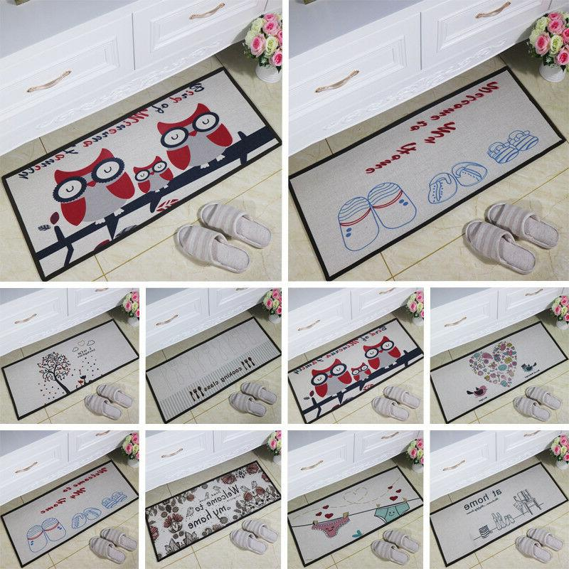 Cute Kitchen Non-Slip Area Room Mat Outdoor Gift