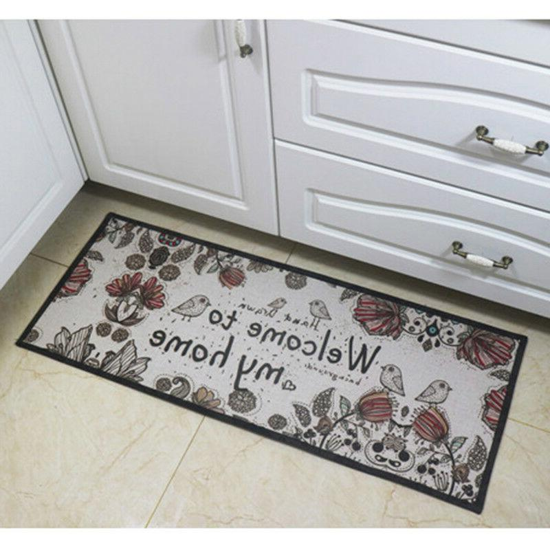 Cute Kitchen Carpet Non-Slip Area Room Outdoor Gift