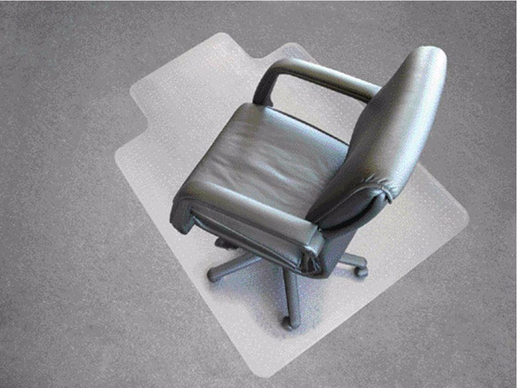 PVC Home Office Chair Floor Mat Studded Back with Lip for St