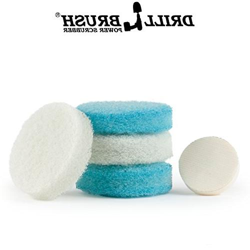 Scrubber Pad Kit Great for Cleaning, Bathroom General Purpose Scrubbing
