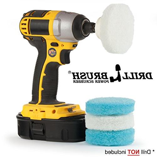 Drill Great for Shower Bathroom Cleaning, Purpose Scrubbing by
