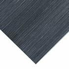 Rubber-Cal 'Fine Rib' 36-inch Wide Black Rubber Flooring Mat