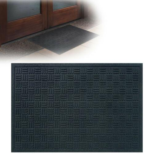 "RUBBER DOOR MAT 24"" x 36"" Outdoor Commercial Welcome Floor R"