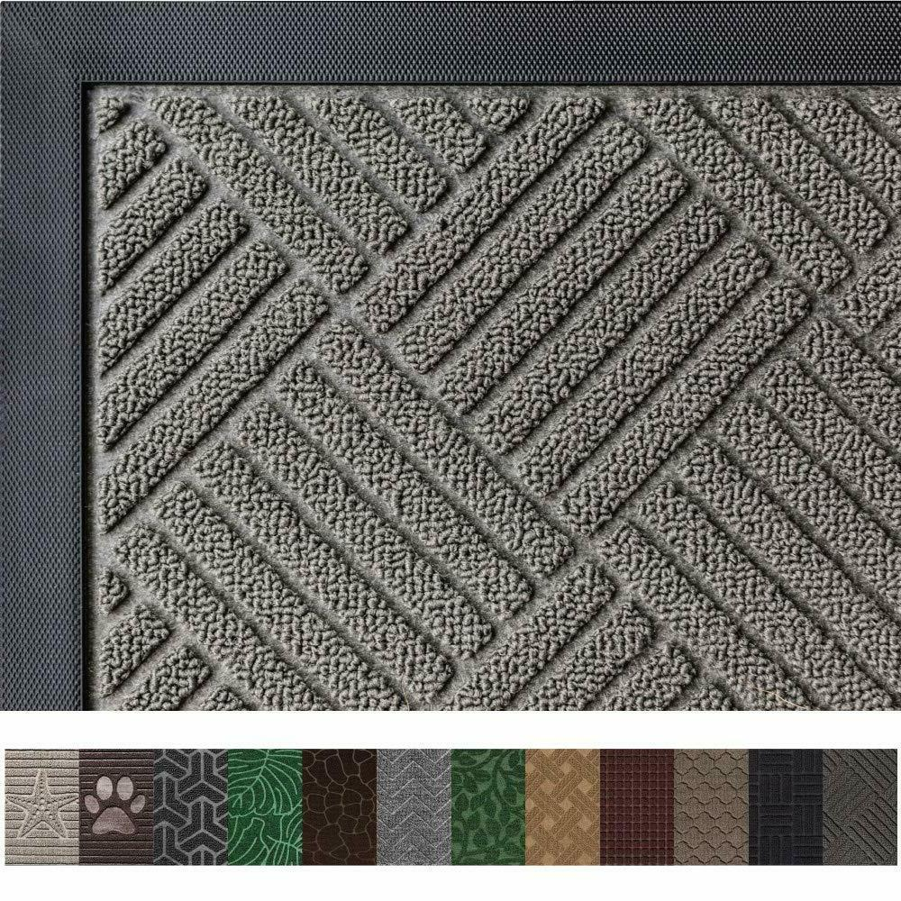 Rubber Waterproof Doormats Indoor Heavy