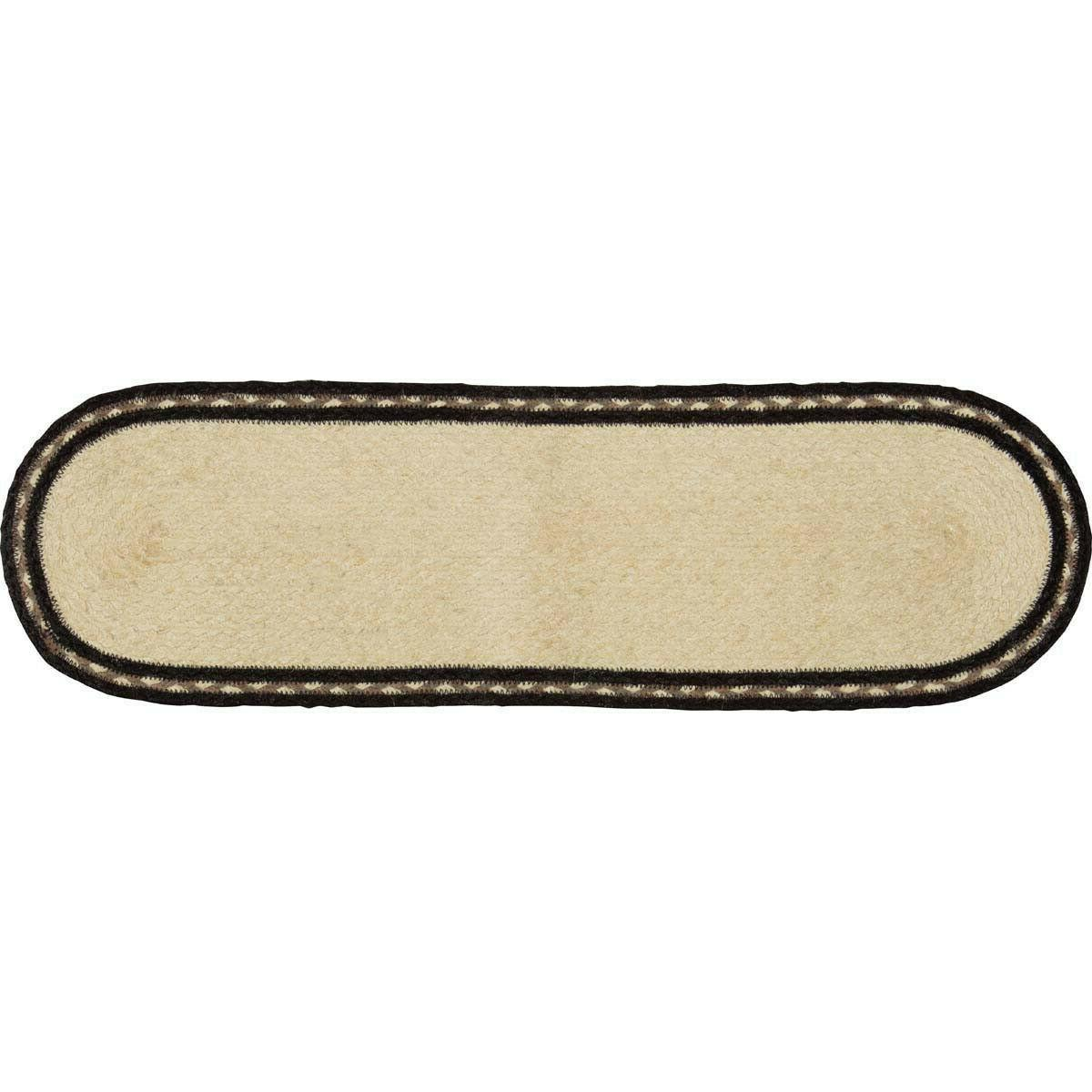 Sawyer Cow OR Rooster Jute Stair Oval/Rectangle