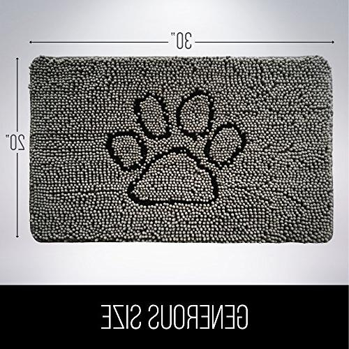Gorilla Original Durable Doormat, Machine Inside Low-Profile Entry, Back Door,