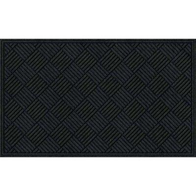 Apache Mills Textures Crosshatch Entrance Mat, 3-Feet by 5-F