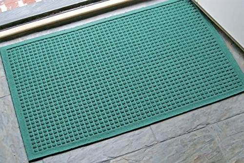 WaterHog Fashion Commercial-Grade Entrance Mat, Indoor/Outdoor Charcoal Mat Length x 2' M+A Matting
