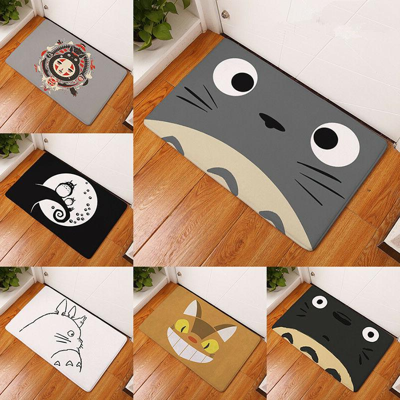 welcome waterproof door mat cartoon cute totoro