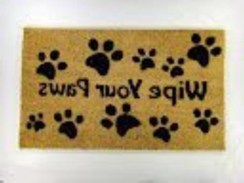 wipe paws coco doormat