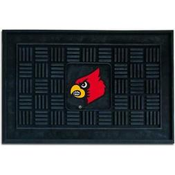 "Louisville Cardinals 19""x30"" Medallion Door Mat"