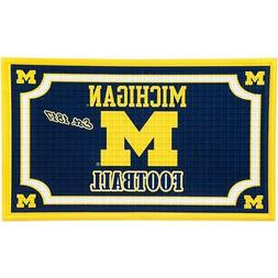 Team Sports America Michigan Wolverines Embossed Door Mat